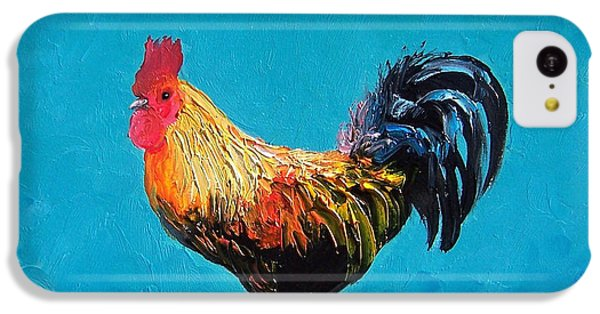Rooster Emanuel IPhone 5c Case by Jan Matson