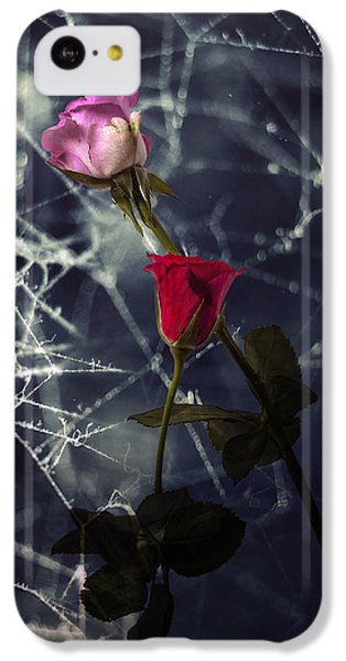 Roses With Coweb IPhone 5c Case by Joana Kruse