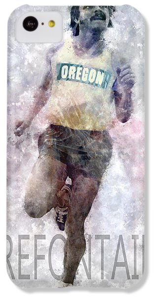 Running Legend Steve Prefontaine IPhone 5c Case by Daniel Hagerman