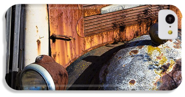 Rusty Truck Detail IPhone 5c Case by Garry Gay