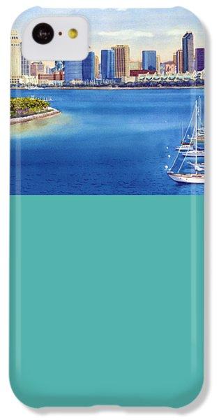 San Diego Skyline With Meridien IPhone 5c Case by Mary Helmreich