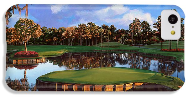 Sawgrass 17th Hole IPhone 5c Case by Tim Gilliland