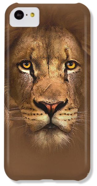 Scarface Lion IPhone 5c Case by Robert Foster