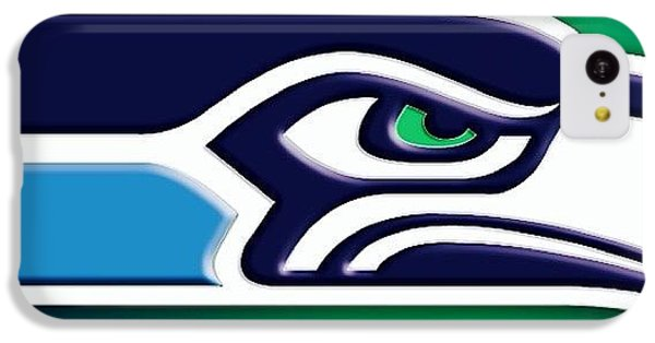Seahawks iPhone 5C Cases - #seahawks #12thman #superbowl iPhone 5C Case by James Morel