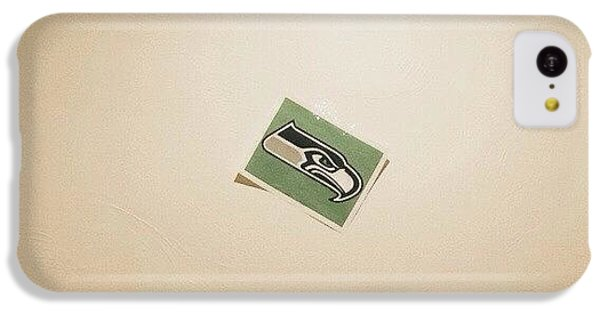Seahawks iPhone 5C Cases - #seahawks #rhcp #vscocam #seattle iPhone 5C Case by Seth Neilson