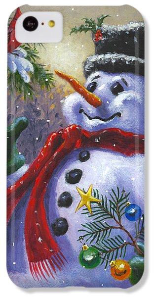 Seasons Greetings IPhone 5c Case by Richard De Wolfe