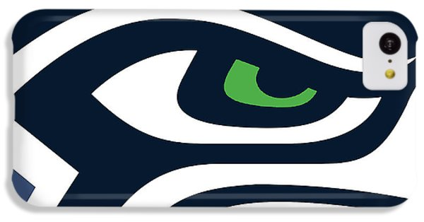 Seattle Seahawks IPhone 5c Case by Tony Rubino