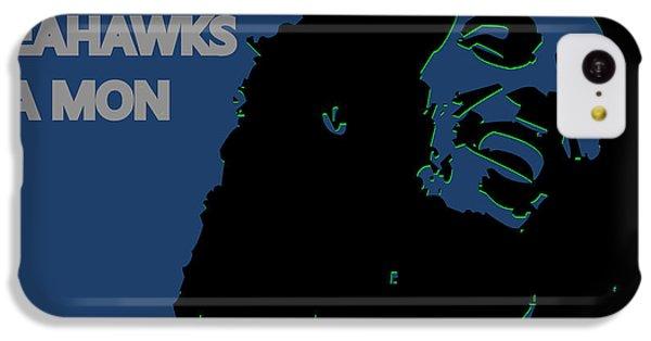 Seattle Seahawks Ya Mon IPhone 5c Case by Joe Hamilton