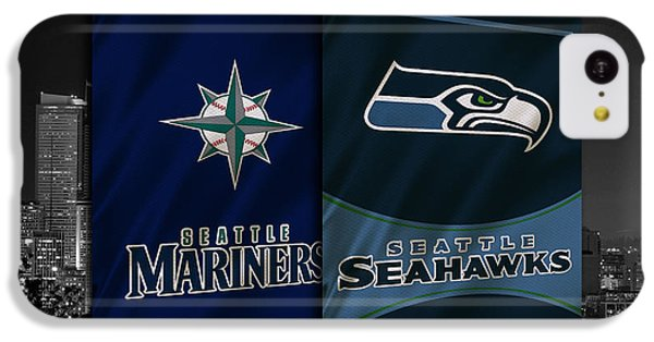Seattle Sports Teams IPhone 5c Case by Joe Hamilton