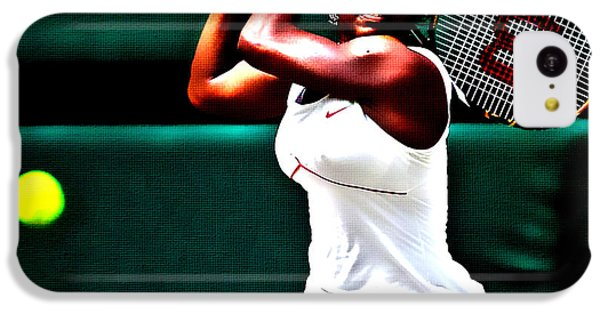 Serena Williams 3a IPhone 5c Case by Brian Reaves