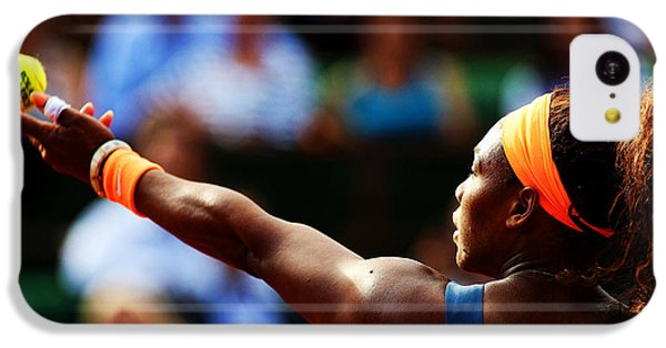 Serena Williams IPhone 5c Case by Srdjan Petrovic