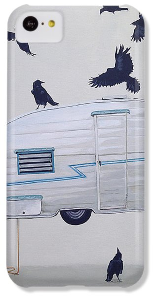 Seven Crows And A Canned Ham IPhone 5c Case by Jeffrey Bess