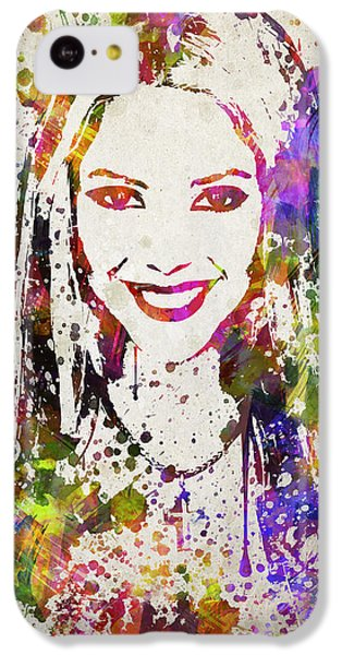 Shakira In Color IPhone 5c Case by Aged Pixel