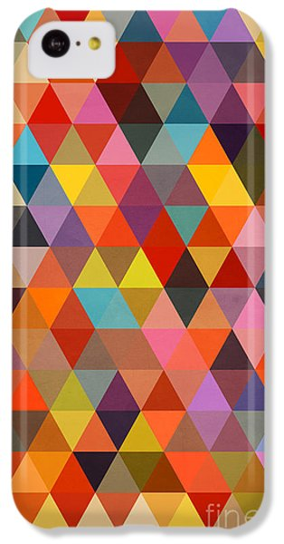 Shapes IPhone 5c Case by Mark Ashkenazi