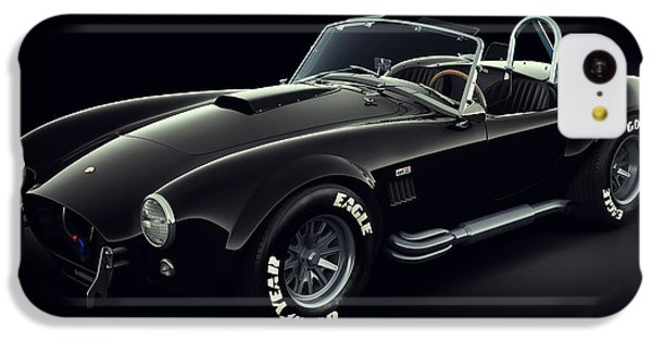 Shelby Cobra 427 - Ghost IPhone 5c Case by Marc Orphanos