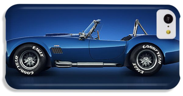 Shelby Cobra 427 - Water Snake IPhone 5c Case by Marc Orphanos