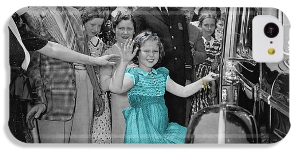 Shirley Temple IPhone 5c Case by Andrew Fare