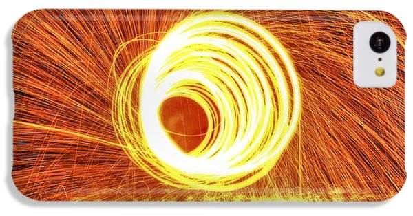 Shooting Sparks IPhone 5c Case by Dan Sproul