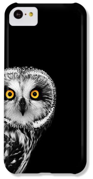Short-eared Owl IPhone 5c Case by Mark Rogan