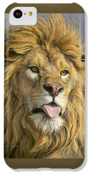 Silly Face IPhone 5c Case by Lucie Bilodeau