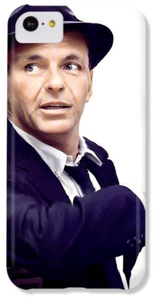 Sinatra.  Frank Sinatra IPhone 5c Case by Iconic Images Art Gallery David Pucciarelli