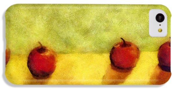 Six Apples IPhone 5c Case by Michelle Calkins