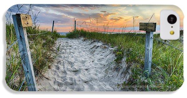 Sleeping Bear National Lakeshore Sunset IPhone 5c Case by Sebastian Musial