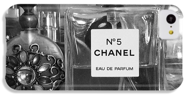 Chanel iPhone 5C Cases - So When Im Bored I Take Pictures If iPhone 5C Case by Arianna Gilman