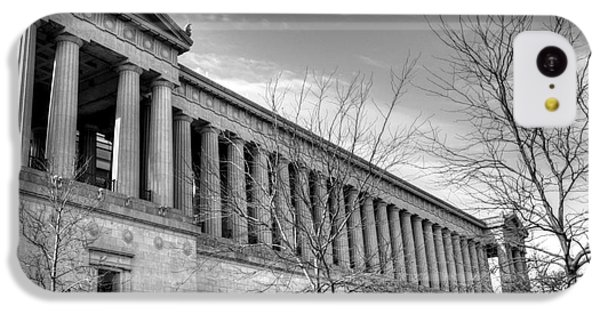 Soldier Field In Black And White IPhone 5c Case by David Bearden