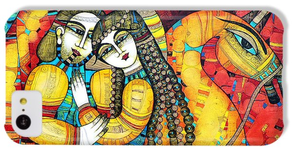 Sonata For Two And Unicorn IPhone 5c Case by Albena Vatcheva