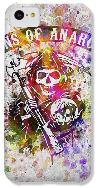 Sons Of Anarchy In Color IPhone 5c Case by Aged Pixel