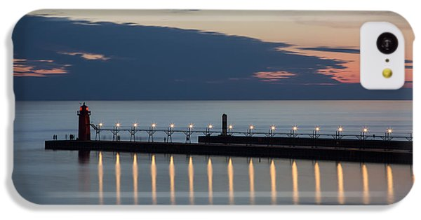 South Haven Michigan Lighthouse IPhone 5c Case by Adam Romanowicz