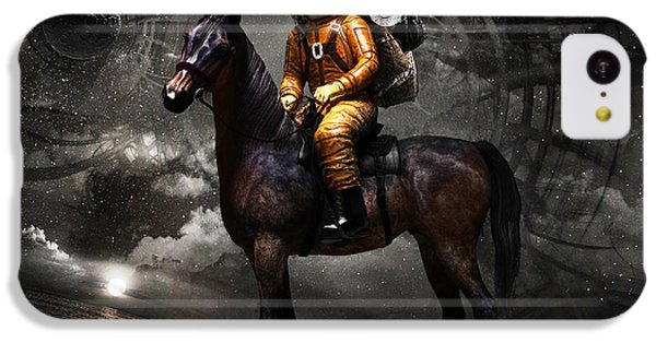 Space Tourist IPhone 5c Case by Vitaliy Gladkiy
