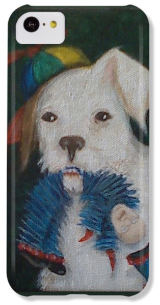 Sparky And Dick IPhone 5c Case by Georgia Griffin