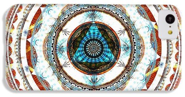 Spirit Circle IPhone 5c Case by Anastasiya Malakhova