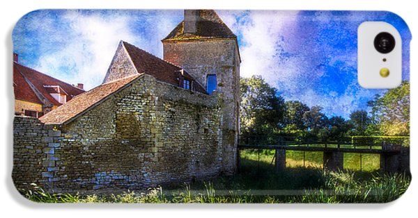 Spring Romance In The French Countryside IPhone 5c Case by Debra and Dave Vanderlaan