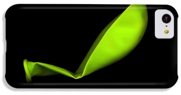 Square Lime Green Balloon IPhone 5c Case by Julian Cook