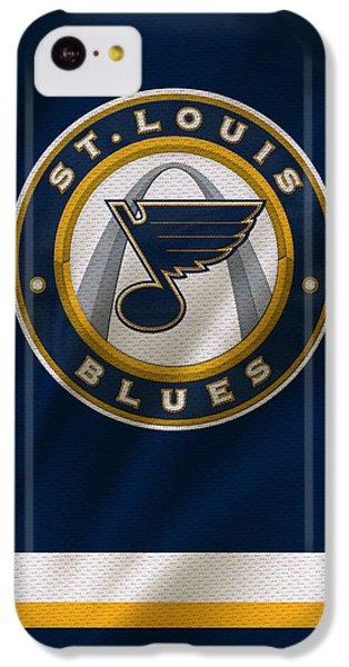 St Louis Blues Uniform IPhone 5c Case by Joe Hamilton