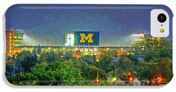 Stadium At Night IPhone 5c Case by John Farr