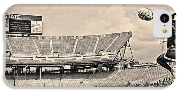 Stadium Cheer Black And White IPhone 5c Case by Tom Gari Gallery-Three-Photography