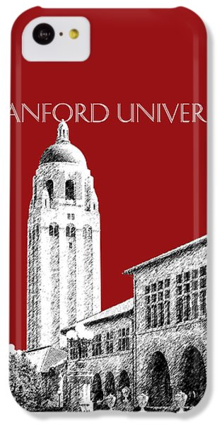 Stanford University - Dark Red IPhone 5c Case by DB Artist