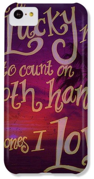 Stan's Beach 2 IPhone 5c Case by Liz Martinez