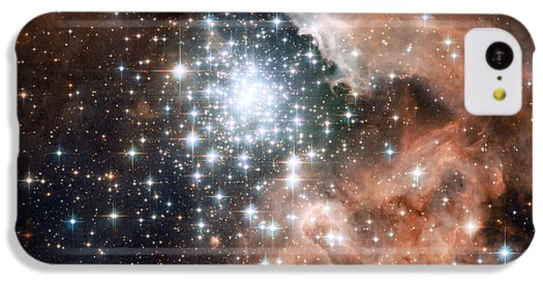 Star Cluster And Nebula IPhone 5c Case by Sebastian Musial