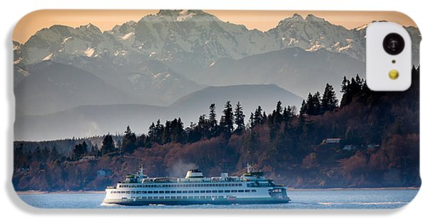 State Ferry And The Olympics IPhone 5c Case by Inge Johnsson