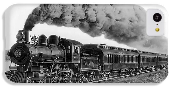 Steam Locomotive No. 999 - C. 1893 IPhone 5c Case by Daniel Hagerman