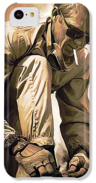 Steve Mcqueen Artwork IPhone 5c Case by Sheraz A