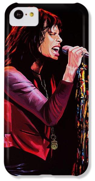 Steven Tyler In Aerosmith IPhone 5c Case by Paul Meijering