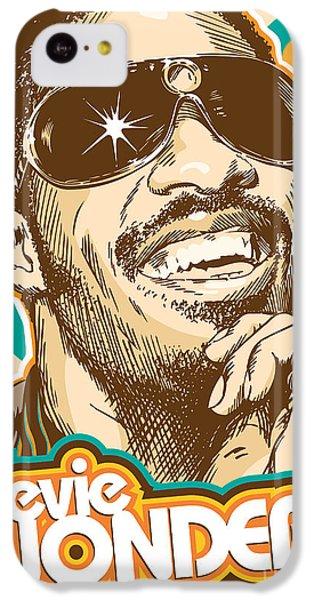 Stevie Wonder Pop Art IPhone 5c Case by Jim Zahniser