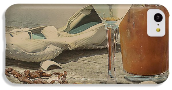 Still Life - Beach With Curves IPhone 5c Case by Jeff Burgess