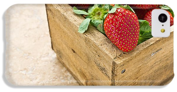 Strawberries IPhone 5c Case by Edward Fielding